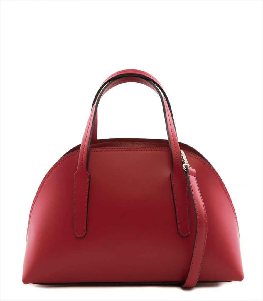 LEATHER HANDBAG BAULETTO_0007_RO COLOR: RED