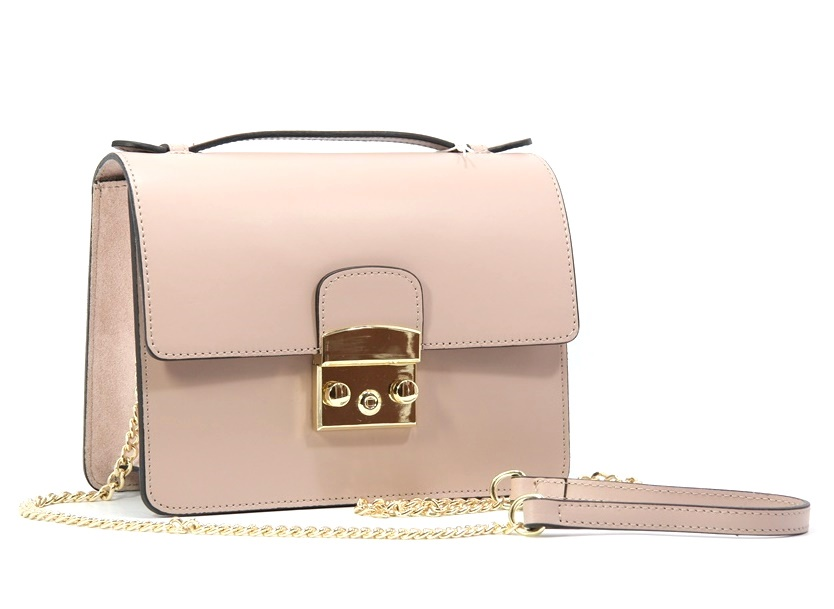 LEATHER AND SUEDE CROSSBODY BAG TRACOLLA_0031_CA COLOR: CAMEO