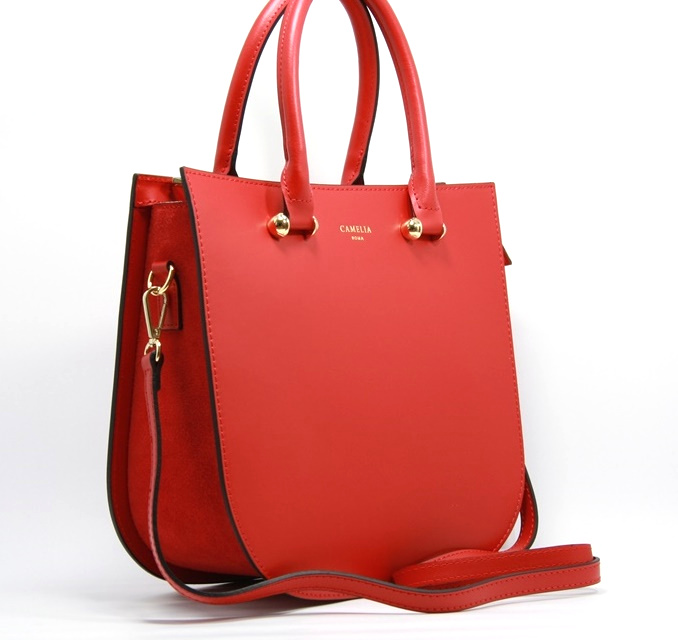 LEATHER AND SUEDE HANDBAG BORSAMANO_0026_RO COLOR: RED