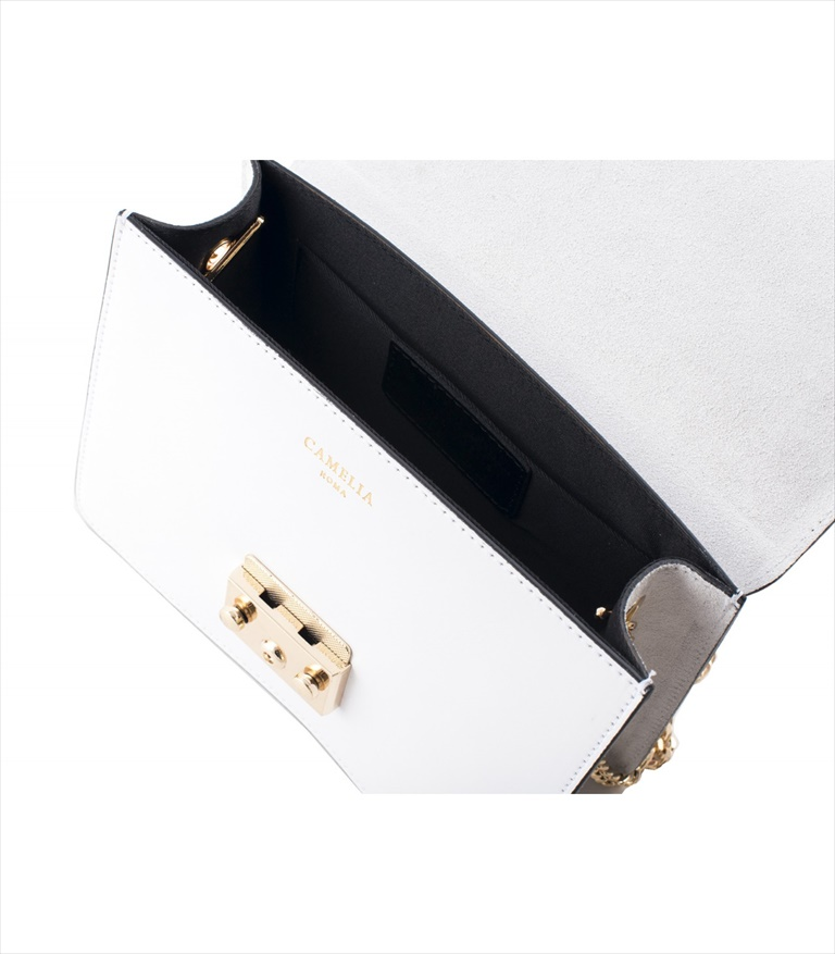 LEATHER AND SUEDE CROSSBODY BAG TRACOLLA_0031_BI COLOR: WHITE