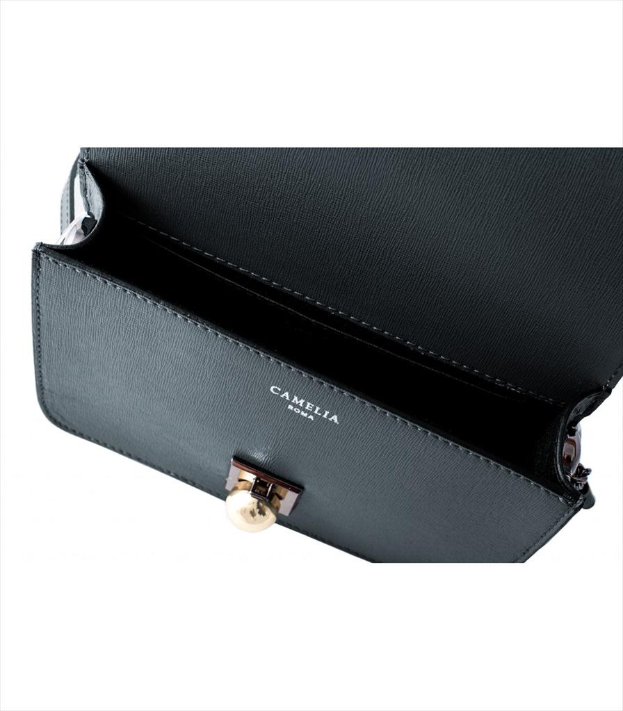SAFFIANO LEATHER SHOULDER BAG TRACOLLA_0036_GR COLOR: GREY