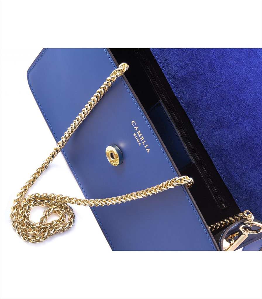 LEATHER AND SUEDE CROSSBODY BAG TRACOLLA_0038_BL COLOR: BLUE