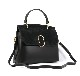 LEATHER AND SUEDE HANDBAG BORSAMANO_0031_NE COLOR: BLACK