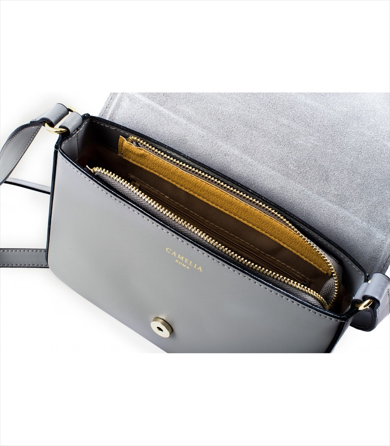 LEATHER AND SUEDE CROSSBODY BAG TRACOLLA_0033_GR COLOR: GREY