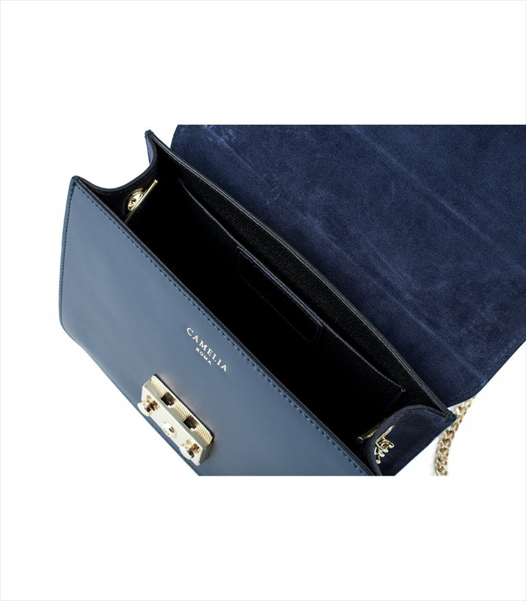 LEATHER AND SUEDE CROSSBODY BAG TRACOLLA_0031_BL COLOR: BLUE