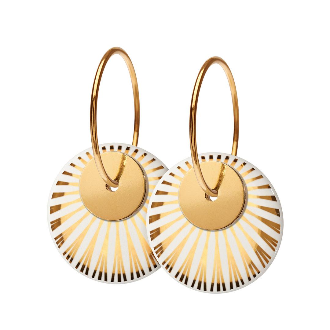 SPLASH duo hoop【GOLD】