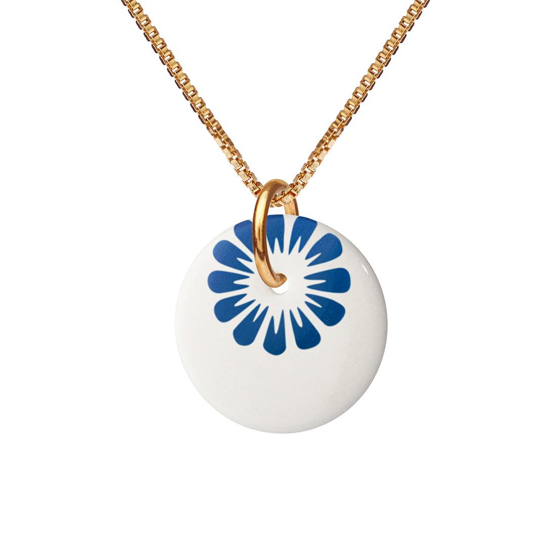 BLOOM necklace 45cm【ULTRAMARINE】