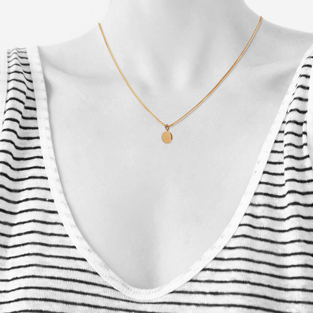 SPOT necklace【GOLD】