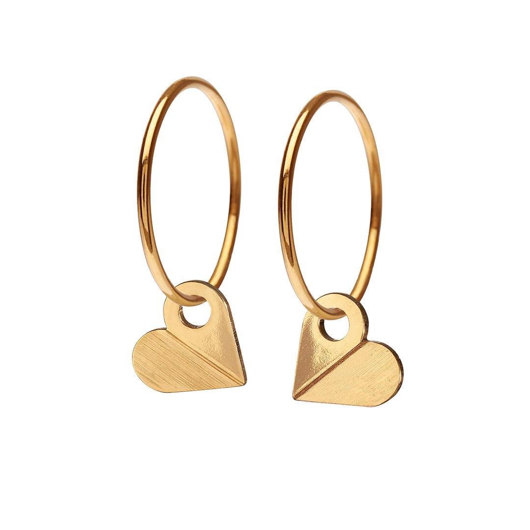 HEART hoop【GOLD】