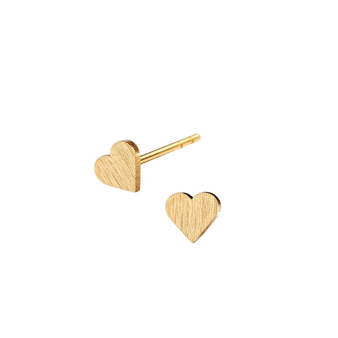 HEART stud tiny【GOLD】
