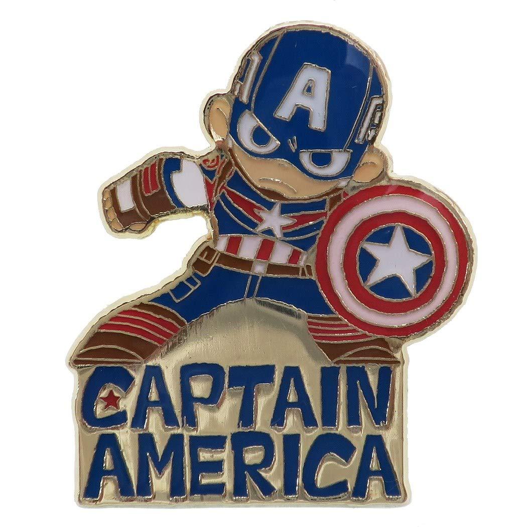 【入荷済】「 キャプテン・アメリカ 」ピンバッジ ピンズマーベル グリヒル