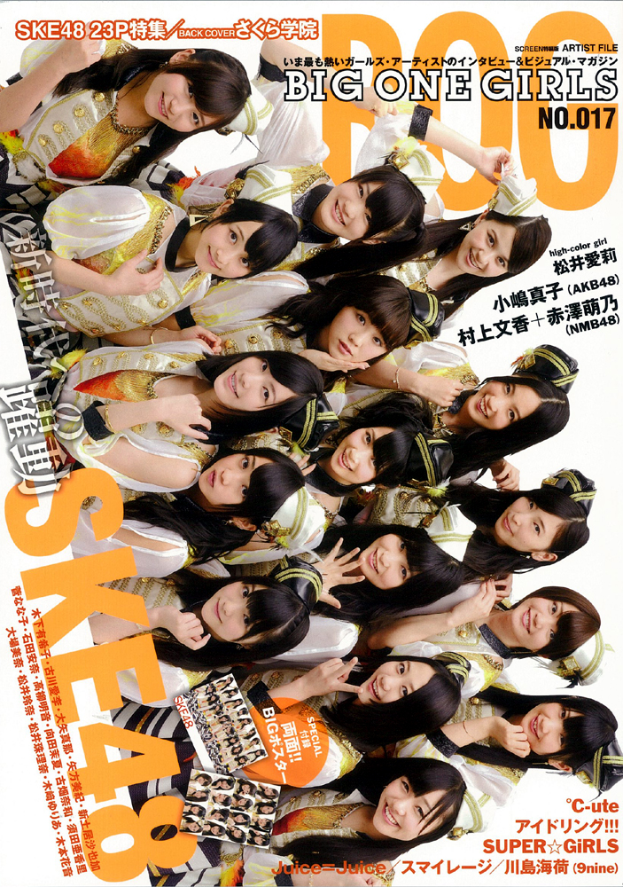 ARTIST FILE BIG ONE GIRLS NO.017