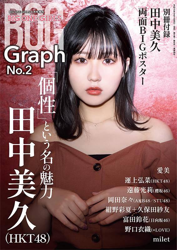 BIG ONE GIRLS Graph No.2 【表紙・田中久美  HKT48】