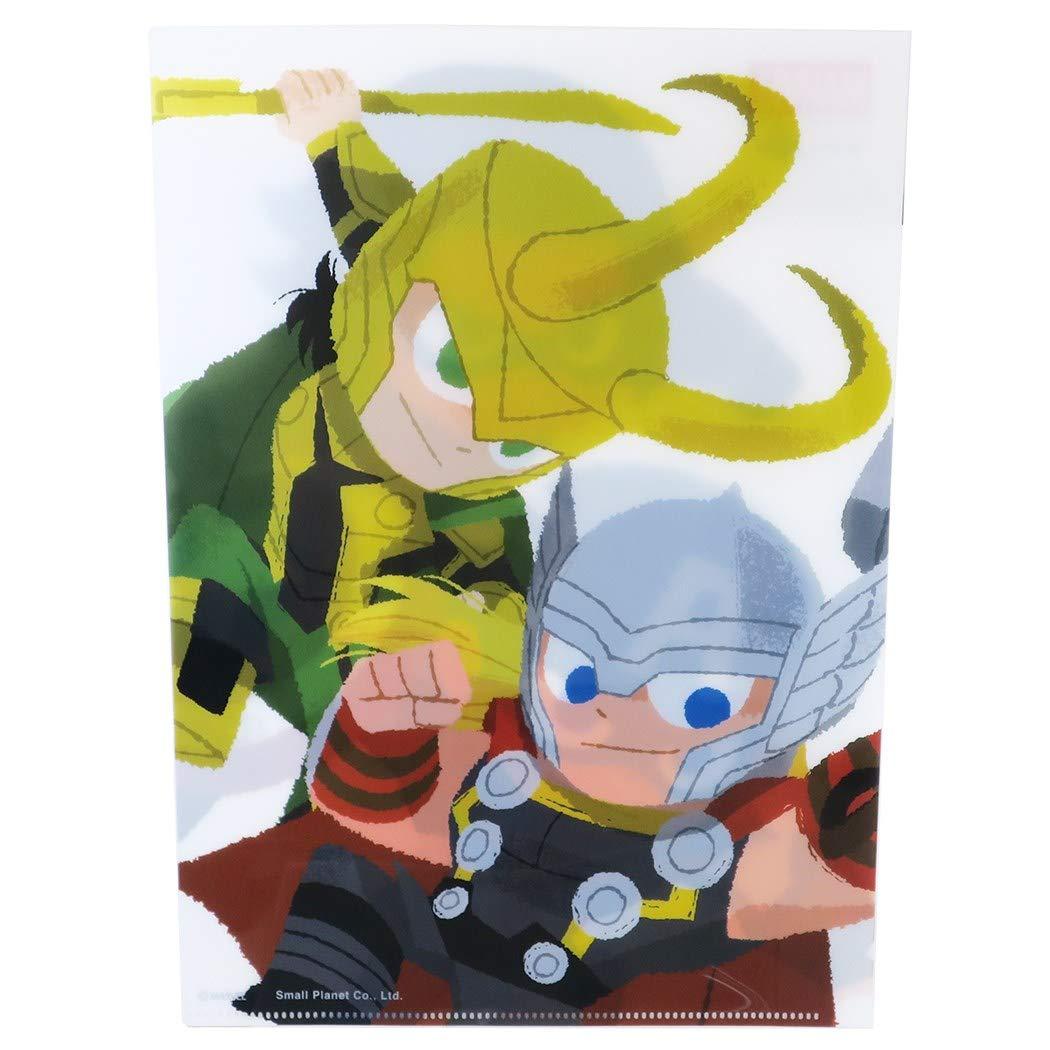 【入荷済】「MARVEL × GuriHiru」A4 シングル クリアファイル ペア  マーベル