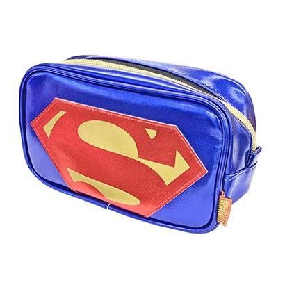 DC COMIC アイコン スクエアポーチ スーパーマンロゴ