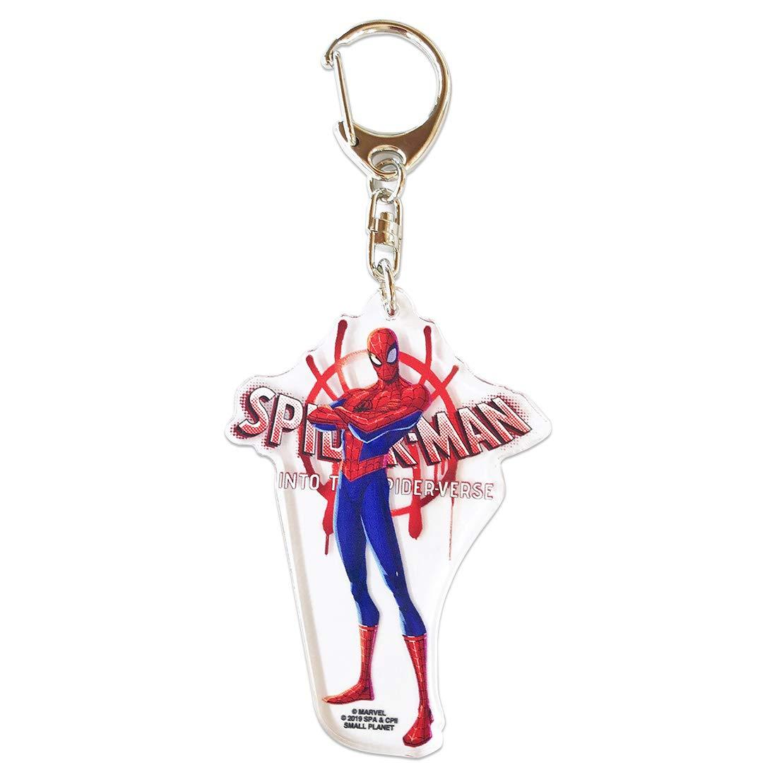 【入荷済】「スパイダーマン:スパイダーバース」アクリルキーホルダー ピーター・パーカー