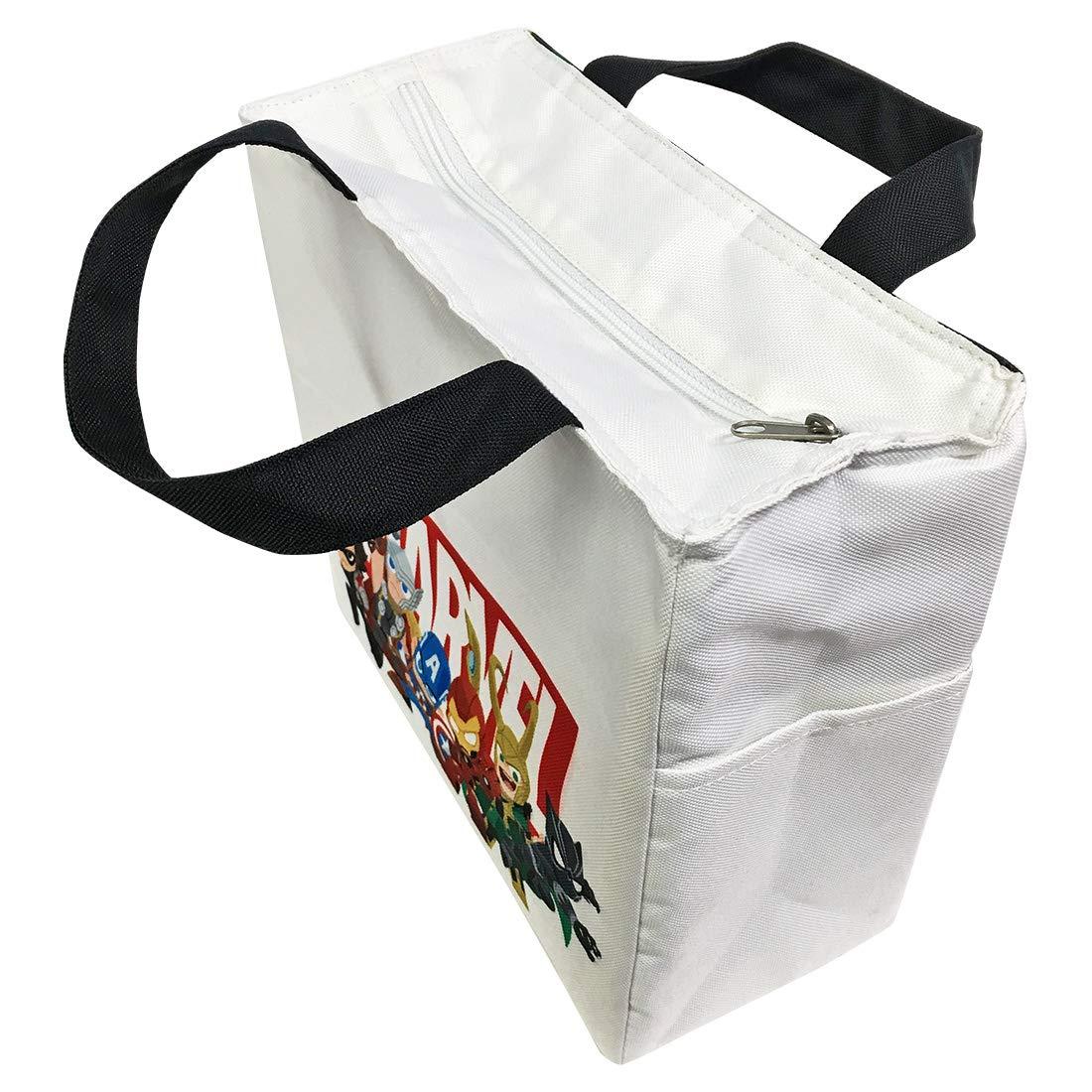 【入荷済】「マーベル」スクエア保存バッグ 集合