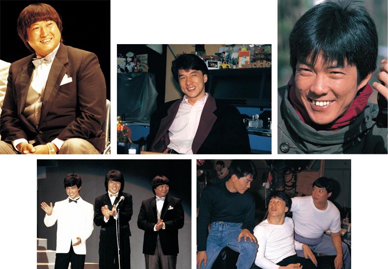ジャッキー・チェン/ユン・ピョウ/サモ・ハン・キンポー オリジナル・ポートレート・5枚セット