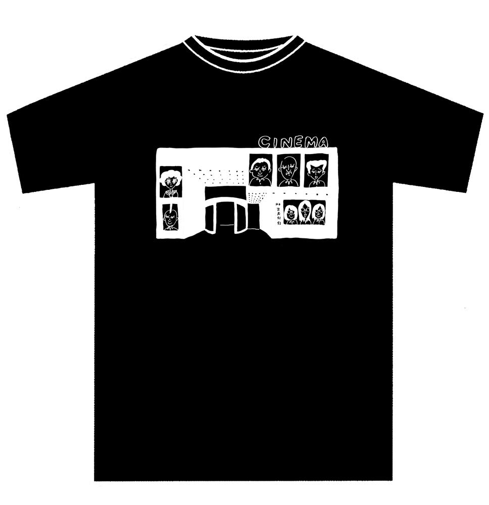 【武蔵野館 オリジナルグッズ】 『音楽』×武蔵野館 コラボTシャツ