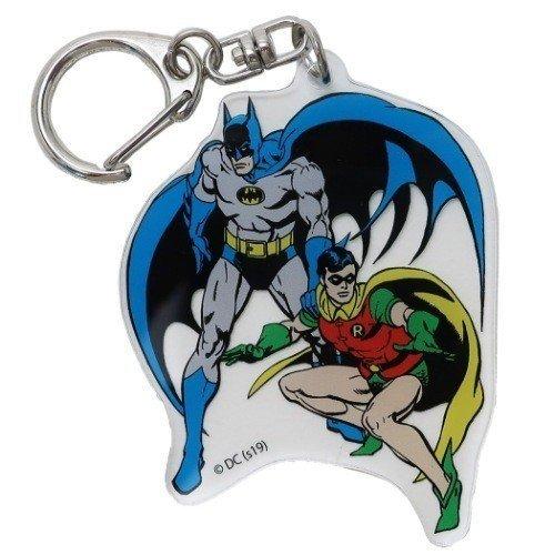 【入荷済】BATMAN バットマン & ロビンアクリルキーホルダー DCコミック