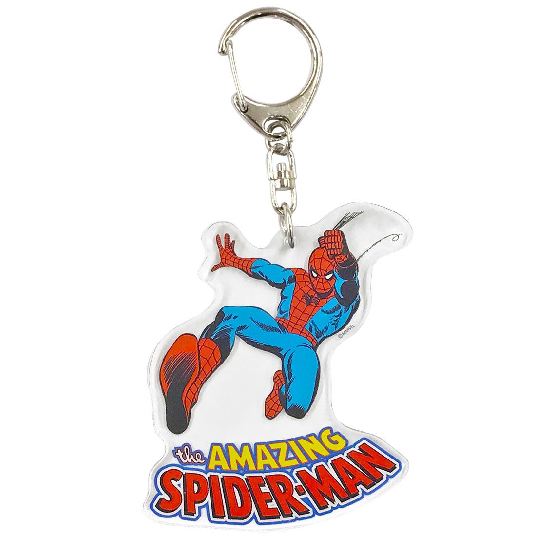 【入荷済】アクリルキーホルダー 《マーベルコミック スパイダーマン》