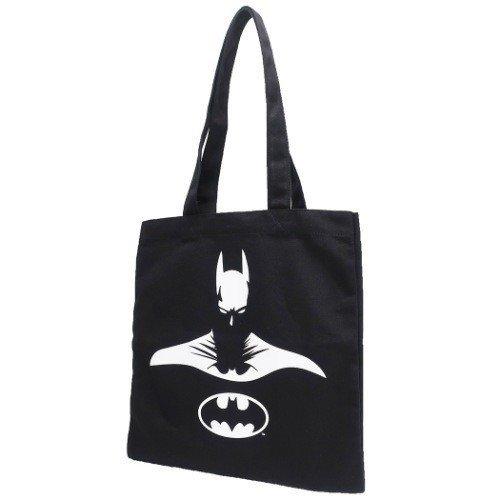 【入荷済】BATMAN バットマン カラートートバッグ ブラック シャドウ