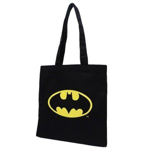 【入荷済】BATMAN バットマン トートバッグ ロゴ ブラック