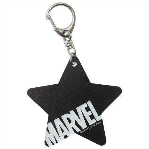 【入荷済】アクリルキーホルダー スター ブラック ロゴ MARVEL マーベル