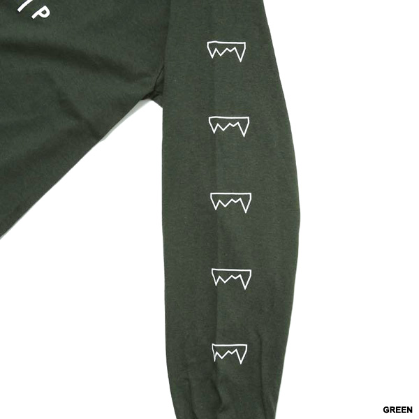 GRAPPLE SLEEVE L/S T-SHIRT -5.COLOR-