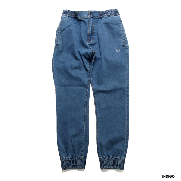 DENIM JOGGER PANTS -2.COLOR-