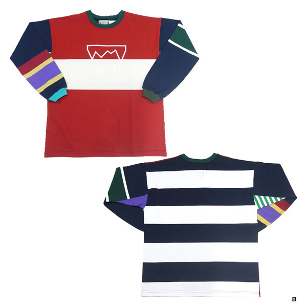 MULTI RUGBY T-SHIRT -L SIZE-