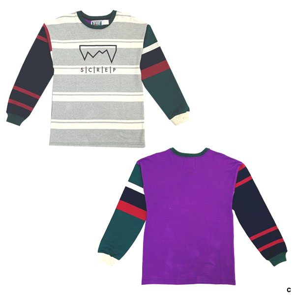 MULTI RUGBY T-SHIRT -S SIZE-