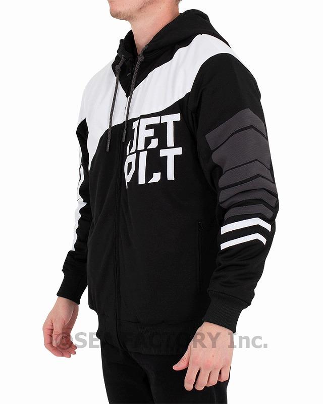 オービット ジャケット(ブラック/ホワイト)