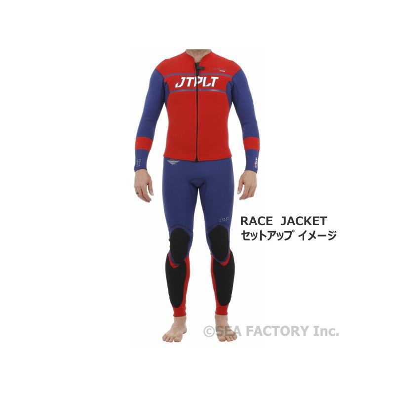 【セットアップセール】RX レース ジャケット&RX レース ネオ パンツ(ネイビー/レッド)