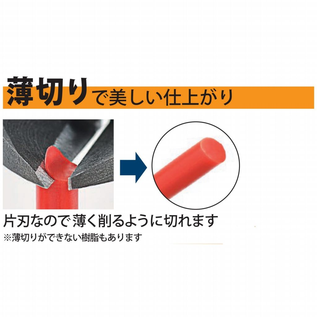 3peaks 片刃プラニッパ 125mm KPN-125G-S