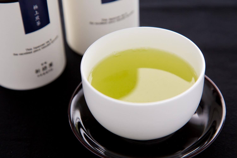 宮崎 日本茶専門店「新緑園」のお茶セット(缶)