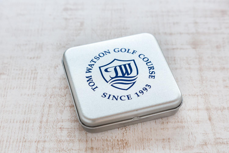トム・ワトソンゴルフコース オリジナル平缶ティ