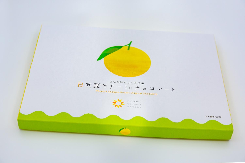 日向夏ゼリー in チョコレート (大) 40個入