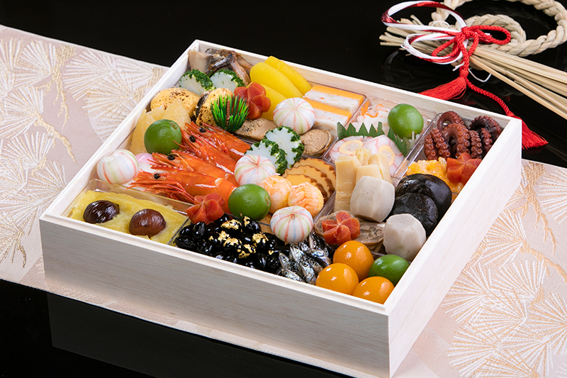 和食お祝いおせち一段重