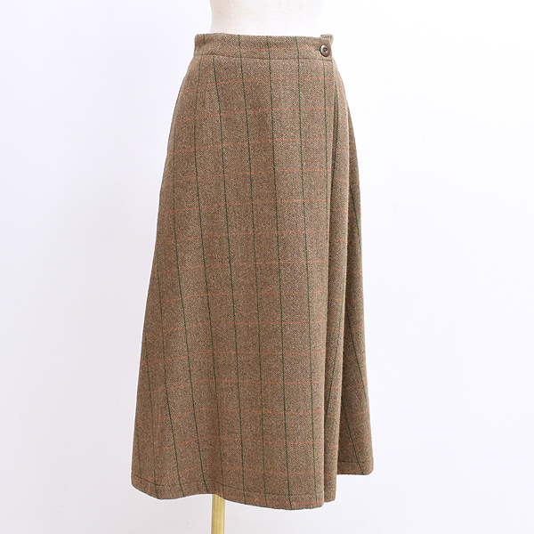 Sarah Wear サラウェア ツイードライクラップスカート C21650 レディース【送料無料】
