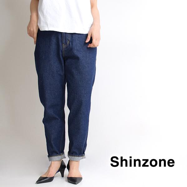 THE SHINZONE シンゾーン CARROT DENIM キャロットデニム 19SMSPA68 レディース【送料無料】