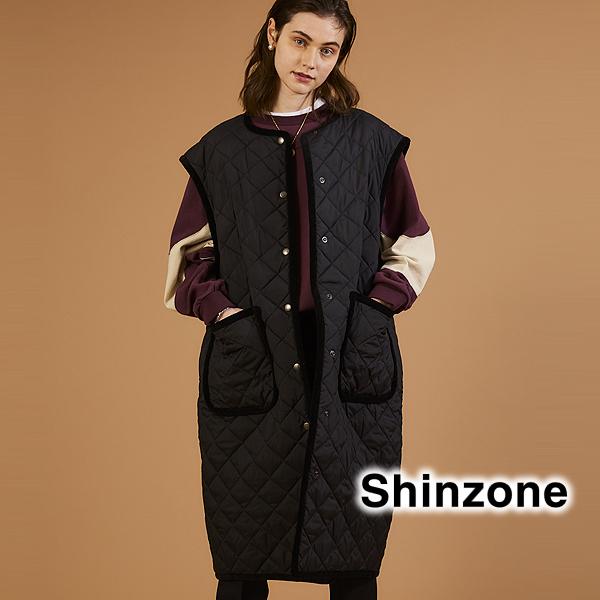 【20AW予約】THE Shinzone シンゾーン SLEEVELESS QUILTING COAT スリーブレスキルティングコート ベスト 20AMSCO04 レディース【送料無料】
