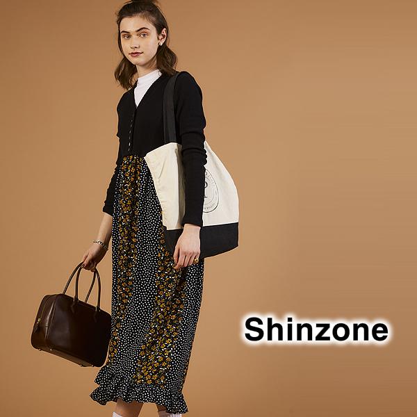 【20AW予約】THE Shinzone シンゾーン RIB DOCKING DRESS リブドッキングドレス ワンピース 20AMSOP03 レディース【送料無料】