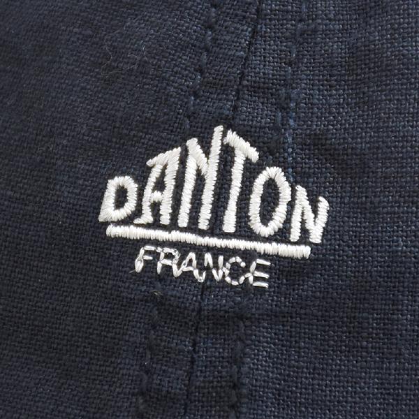 DANTON ダントン リネンロゴキャップ JD-7281LNF レディース【送料無料】【クリックポスト可】