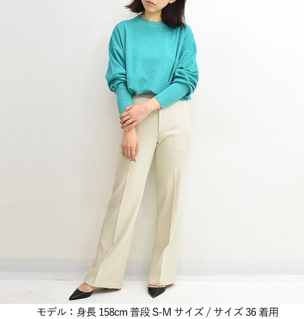 【21AW】THE SHINZONE シンゾーン CENTER PRESS PANTS センタープレスパンツ 17SMSPA16 レディース【送料無料】