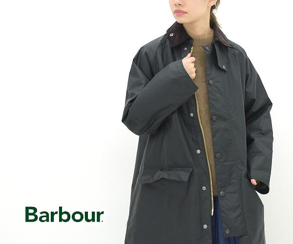 "【21AW】Barbour バブア ""LADIES BURGHLEY"" バーレー ロングオイルドジャケット コート レディース  LWX1113"