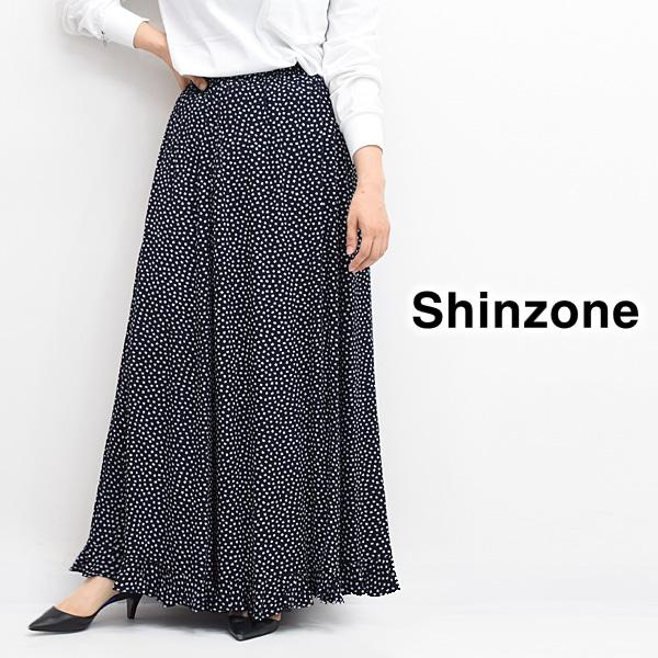 【11月納期】THE SHINZONE シンゾーン FLORET HEM FRILL SK フラワープリント フリル スカート 20AMSSK53 レディース【送料無料】