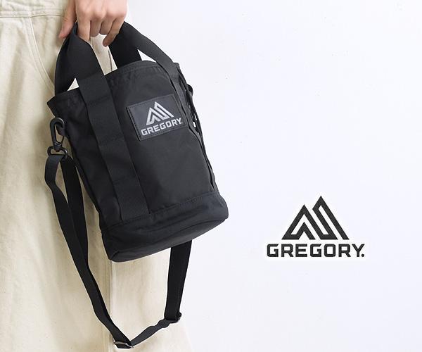 GREGORY グレゴリー ランタンショルダーバッグ ブラック 130297 レディース メンズ ユニセックス【会員登録で送料無料】【クリックポスト可】