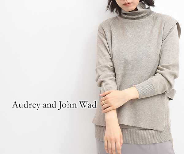 Audrey and John Wad オードリーアンドジョンワッド タートルベスト&2Wayワンピース H5722 レディース【送料無料】