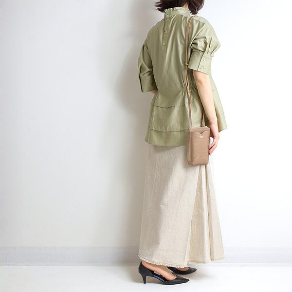 MICA&DEAL マイカアンドディール サイドタックラインスカート 0121202099【送料無料】